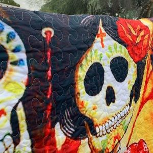 New Day Of The Dead Quilt XL